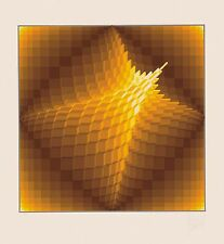 Jean-Pierre Vasarely - Star, hand-signed serigraph