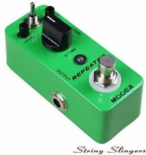 Mooer Micro Compact Repeater Digital Delay Effects Pedal, MDD2