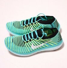 Nike Free RN Motion Flyknit Womens Running Shoes, Sz 7.5, 834585 300, Org $150