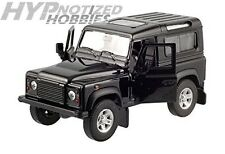 WELLY 1:24 LAND ROVER DEFENDER DIE-CAST BLACK 22498