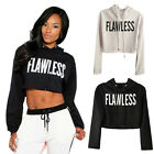 Women Hooded Sweatshirt Pullover Hoodie Casual Coat Outerwear Tops Clubwear New