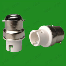 Bayonet BC B22 To Small Bayonet SBC B15 Light Bulb Adaptor Lamp Socket Converter