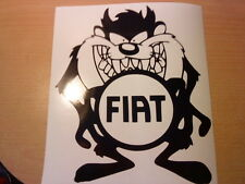 fun fiat punto panda bravo croma fiorino vinyl car sticker graphic decal novelty