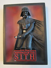 2005 STAR WARS REVENGE OF THE SITH - 3D WALL PLAQUE-CODE 3-HEAVY - 6 1/2 X 4 1/2