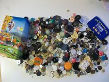 Huge Mixed Lot of Vintage Buttons