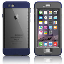 "LifeProof iPhone 6 4.7"" Nuud WaterProof Case Night Dive Blue Authentic OEM New"