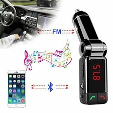 Bluetooth Car Kit FM Transmitter MP3 USB Charger Handsfree For iPhone Samsung