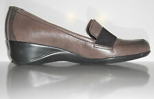 New Naturalizer Women's Ashlyn Leather Wedge Loafers Shoes sz 8.5M