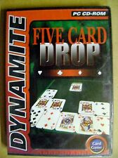 Jeux CD PC Five card drop Combinaison de puzzle et de poker /J19
