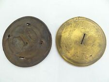 Mixed Antique Lot Old Railroad Brass Metal Dietz Lantern Caps Tops Parts
