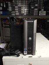 Dell Optiplex 760 Core 2 Duo E8400 3ghz 2GB 160GB Linux USFF Computer w/ DA-2 AC