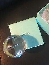 Tiffany & Co Basketball crystal  paperweight - NEW in blue Tiffany box!
