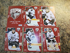 2013-14 BRODY MILNE GUELPH STORM OHL PLAYER CARD