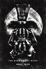 """The Dark Knight Rises movie poster  : 11"""" x 17"""" Bane poster (b) Tom Hardy poster"""