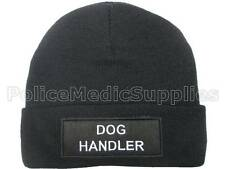DOG HANDLER Beanie Hat  for Police Security Officer Canine K9 Patrol Guard SIA