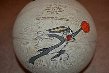 RARE 1994 Six Flags Theme Parks Looney Tunes Character Basketball - Bugs Bunny