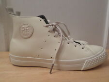 PF Flyers Todd Snyder Rambler Hi PM15BS3Q Unisex Alabaster Leather M 8 WO'S 9.5