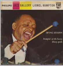 "7"" EP Lionel Hampton Swing Session (Dizzy Spells, Stompin`At The Savoy) 60`s"