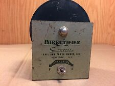 Vintage 1950s Scintilla Directifier for AC to DC operation Model Railroad Train