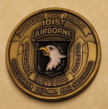 101st Airborne Division Association 55th Annual Reunion Army Challenge Coin