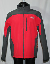 The North Face Mens Apex Bionic Jacket - TNF Red Asphalt Gray - Large - NWT