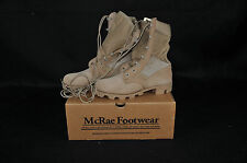 NEW - USGI - SIZE 4.5  R - MCRAE HOT WEATHER DESERT COMBAT BOOTS  - PANAMA SOLES