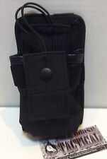MOLLE Radio Pouch Tactical Vest Chest Rig Radio MOLLE Pouch Utility Pouch Black
