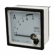 1×AC 10A Screw Mounted Square Analog Panel AMP Current Meter Ammeter XT-72