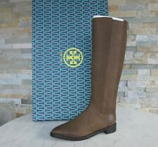 orig TORY BURCH Gr 38,5 Stiefel boots Schuhe shoes 31148323 mud NEU UVP 480€