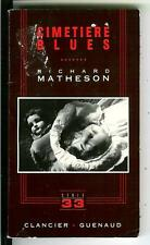 CIMETIERE BLUES by Richard Matheson, rare French crime noir pulp vintage pb
