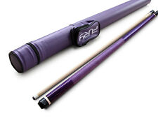 Champion Gator Purple Billiards Maple Pool Cue Stick(18oz), Fury Purple Case,Tip