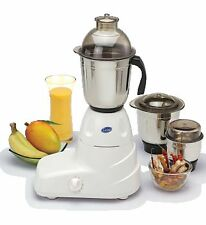 Glen GL4025 Mixer Grinder 3 Jar heavy duty 550 Watt Motor, 5Yrs. Motor Warranty