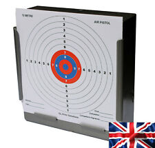 100 - 170gsm Card 10 Metre Air Pistol Competition Targets 14cm (shooting airsoft