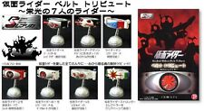 Popy S Replica Kamen Mask Masked Rider Belt Tribute Volume 1 Set of 7 New