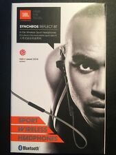 JBL Synchros Reflect BT In-Ear Sound Isolating Bluetooth Headphones with Mic Blk