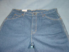 "MENS NEW BLUE JEANS ""DICKIES"" 36 X 30  DARK BLUE"