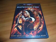 The Hunger Games 2: Catching Fire (DVD, 2014) Jennifer Lawrence Used