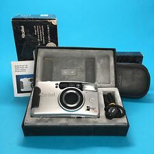 Rollei Prego 125 Set Camera Kamera Strap Case Instructions 35mm Film Vtg