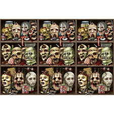 Scary Heads Backdrop Decoration 4 x 30 Feet