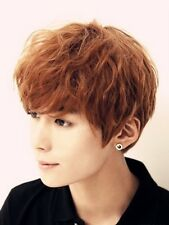 Cosplay party wigs New Short Light brown Fashion Man Wig