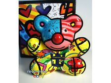 ROMERO BRITTO ROYAL CARIBBEAN TEDDY BEAR FIGURINE * NEW * EXCLUSIVE CRUISE LINE