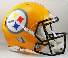PITTSBURGH STEELERS NFL Riddell SPEED Full Size AUTHENTIC Football Helmet