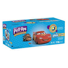 Huggies Pull-Ups Potty Training Pants Boys 3-4T 116 Count Diapers Disposable