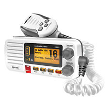 Uniden Oceanus UM415 Fixed Mount Full-Featured Class D VHF Marine Radio White