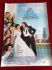 My big fat greek Wedding Kinoplakat Filmplakat A1 Hochzeit auf griechisch