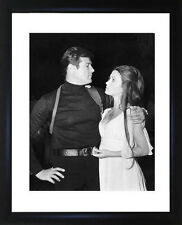 Roger Moore And Jane Seymour Framed Photo CP1290