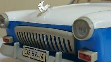 VINTAGE VOLGA GAZ LIMO SEDAN TOY FRICTION CAR USSR PLASTIC METAL RUBBER CCCP ERA
