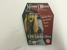 The Norman J Warren Collection DVD 2004 5-Disc Coffin Box Anchor Bay RARE SIGNED