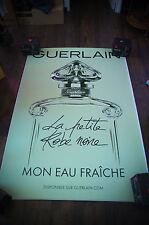 GUERLAIN LA PETITE ROBE NOIRE B 4x6 ft D/S Advertising Poster Original 2016