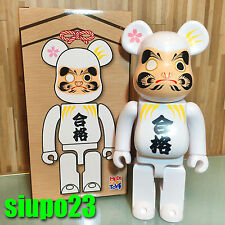 Medicom 400% Bearbrick ~ Sky Tree Be@rbrick Daruma Pass Prayer White Color